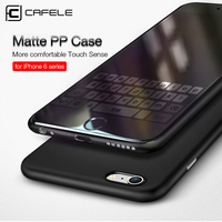 CAFELE Original Chiffon series case for iphone 6s plus Ultra Thin micro matte PP case for iphone 6 Fashion flexibility cover