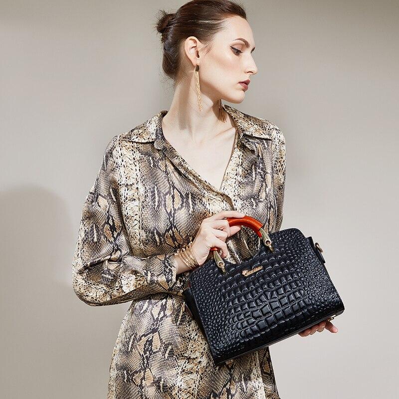 Sac à la mode pour femme Femme 2018 qualité supérieure sac femme en cuir véritable ZOOLER célèbre marque sac à main designer bolsa feminina # e118