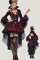 Dear Lover 2015 Nueva Cosplay Fantasía de Halloween Disfraces para Adultos Establecidos Mujeres Vampiros LC8922 Vixen Traje de Rol Ropa de Exportación