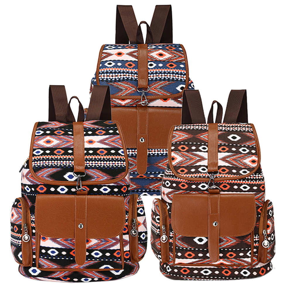 Lovely Animals Printing Canvas Backpack In Woman s Casual Daypacks Girls School Backbag Mochila Feminina High