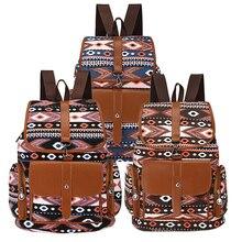 Милые Животные Печати Холст Рюкзак женщины Повседневная Daypacks Девушки Школа Backbag Mochila Feminina Высокое Качество