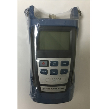 SF-3200A Optical Power Meter Fiber Optic Handhled Optical Power Meter -70~+10 dBm joinwit jw3208a portable 70 3dbm fiber optic power meter used in telecommunications free shipping
