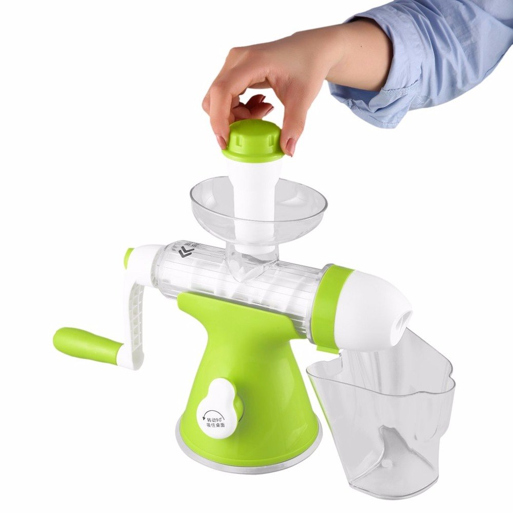 Manual Hand Crank Health Juicer Maker Slow Grinding Juicer for Home & Office Fruits Vegetables Juice Extractor цена 2017