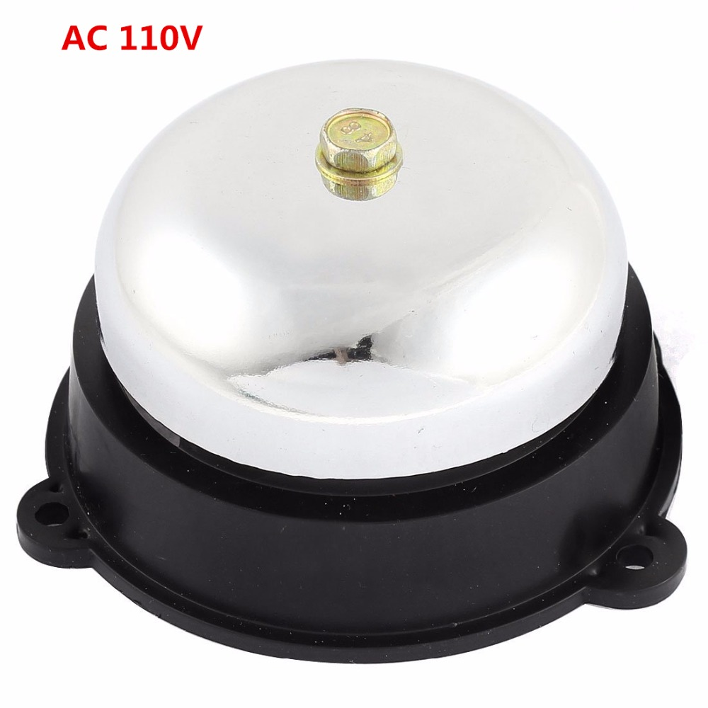 School Factory Fire Alarm Safety Electric Bell 75mm AC 110V UC4-75