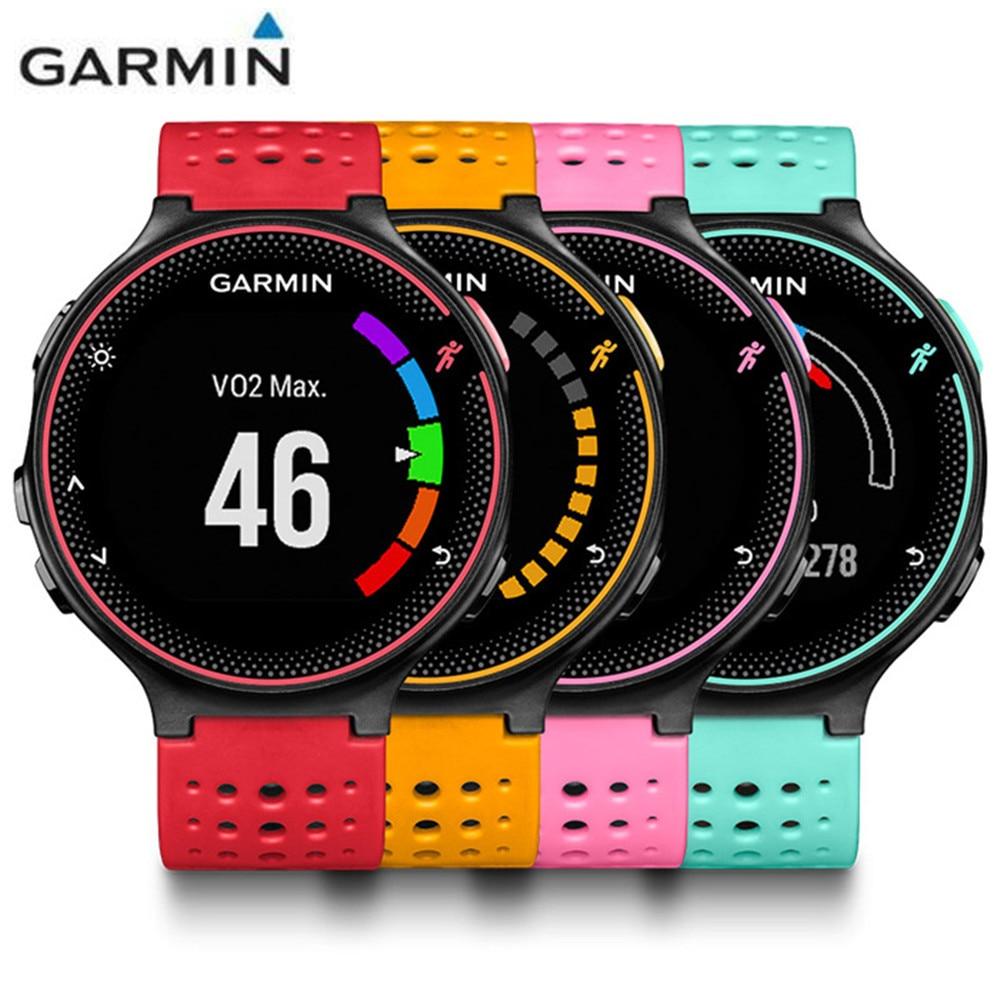 Garmin Forerunner 235 Running Smartwatch BT4.0 Colorful Screen Smart Watch With 5ATM Waterproof All-Weather Heart Rate Monitor все цены