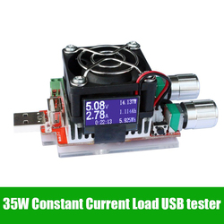 35w usb electronic load adjustable constant current aging resistor battery voltage capacity tester qualcomm qc2 0.jpg 250x250