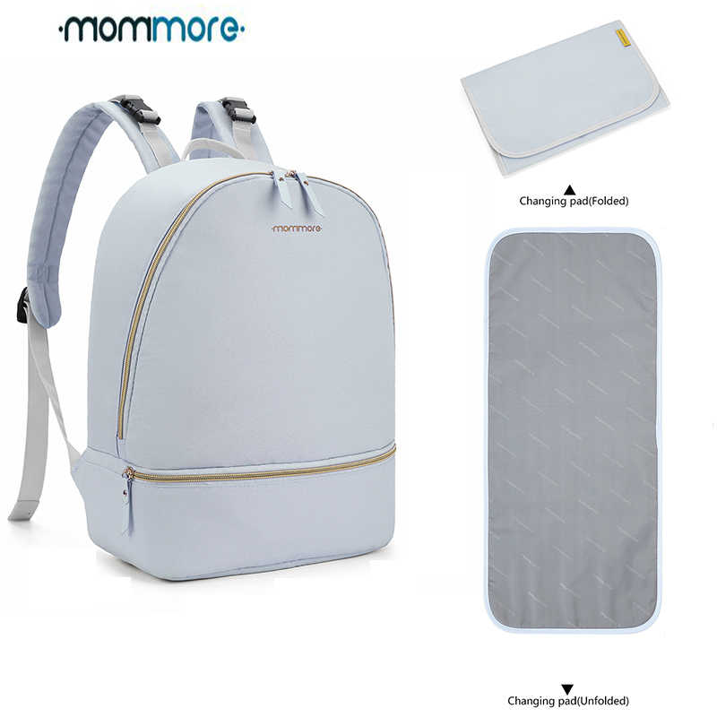 40e25e6dd983d mommore Waterproof Diaper Backpacks Large Travel Diaper Bags with Changing  Pad Lightweight Nursing Bags for Baby