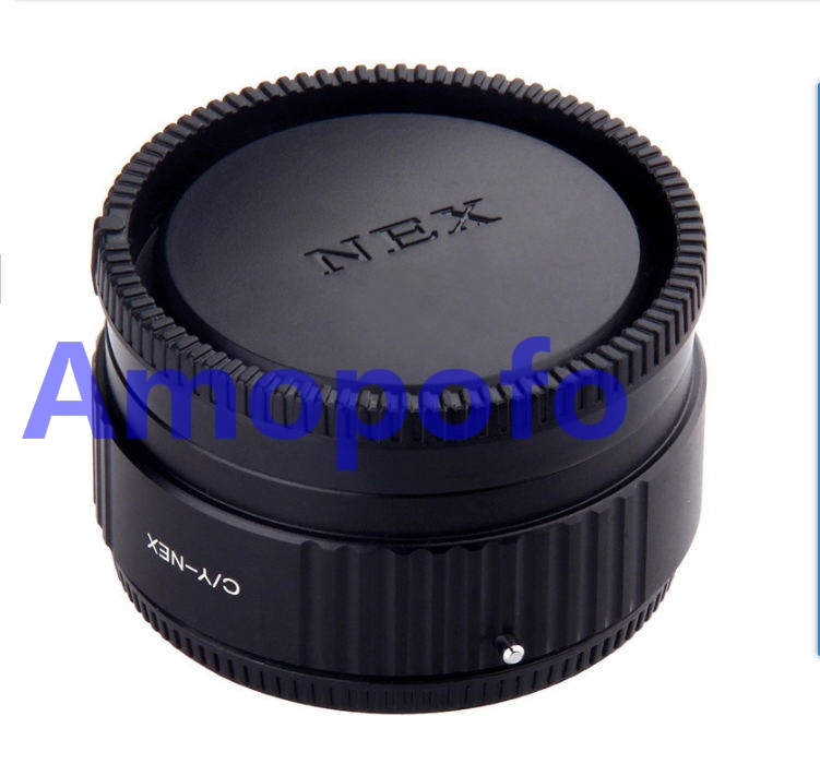 Amopofo CY-NEX Focal Reducer Speed Booster Adapter for Contax Yash mount Lens to for Sony NEX E NEX-F3 NEX-7 NEX-5N NEX-C3 NEX-3 l22 protective nylon carrying bag for sony nex 7n ne 5n nex f3 black blue