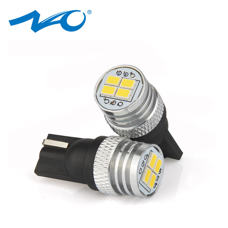 NAO <font><b>t10</b></font> <font><b>led</b></font> W5W <font><b>4300k</b></font> car accessories 5w5 For BMW interior light automobiles motorcycle w5w 12v bulb 1.9W 194 Super Bright 6000k image