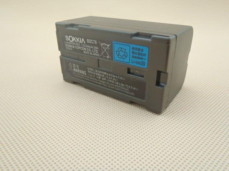Sokkia Style Battery BDC70 for Topcon ES CX Sokkia FX Set x Series Total Station