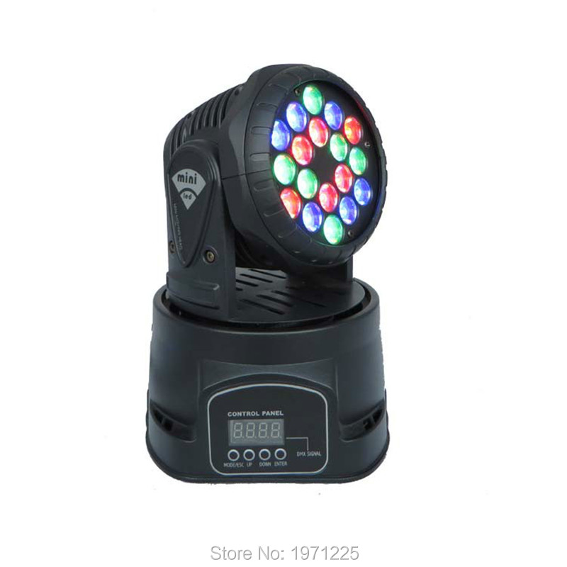 Fast Shipping professional stage lighting led mini 18x3w wash moving head Light For Event,Disco Party Nightclub