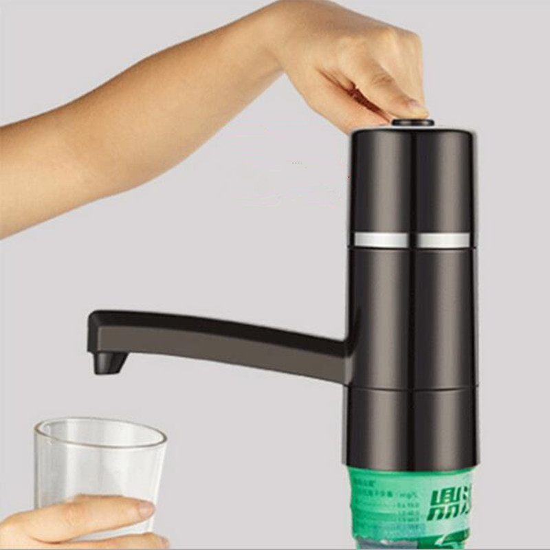 Household Water Dispenser USB Charging Bottled Water Pumping Device 15W Electric Water Pump Suction Device
