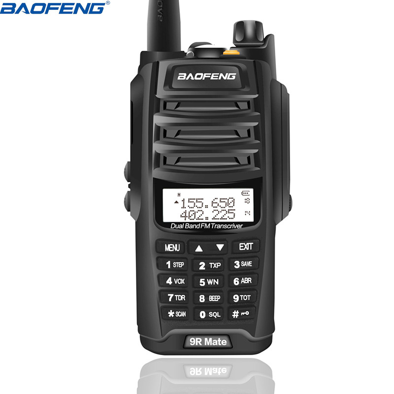 2019 NEW High Power Upgrade Baofeng UV 9R Mate Waterproof Walkie Talkie 10W for Two Way