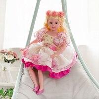 New design 70 cm silicone reborn baby dolls renascer bonecas de moda para a princesa crianças bebes reborn com roupas de presente de aniversário