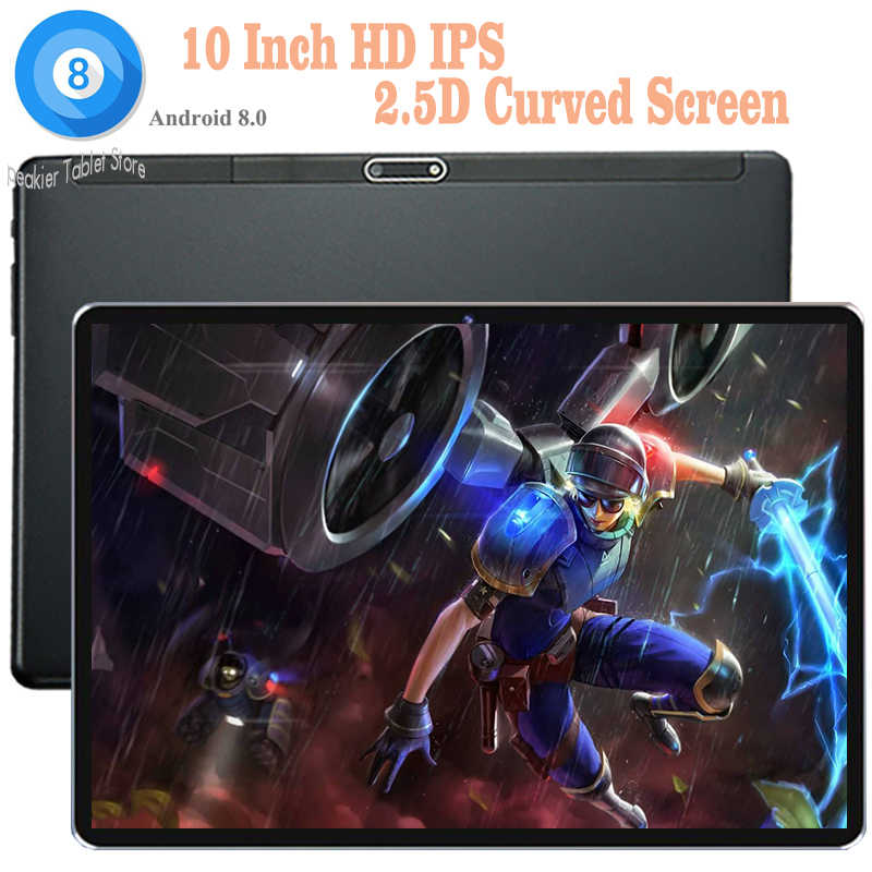 Latest Version DHL Free 10 inch Android 8.0 tablet PC Octa Core 4G RAM 64G ROM 4G LTE Dual Sim Cards Wifi/GPS tablets 10 10.1