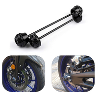 JMCRider For YAMAHA MT 07 FZ 07 MT07 MT 07 2014 2015 2016 Motorcycle Axle Fork Wheel Protector Sliders Falling Protection