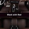 Coche personalizado alfombras de piso para Volkswagen todos los modelos vw passat b5 6, polo golf, tiguan, jetta, touran, touareg, estilo de coche auto piso mat