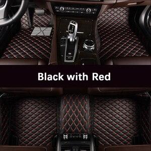 Image 1 - Custom car floor mats for Volkswagen All Models vw passat b5 6 polo golf tiguan jetta touran touareg car styling auto floor mat
