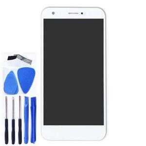 Image 4 - Nuovo 5.2 per ZTE Lama A512 LCD full + touch screen digitizer componente di ricambio per ZTE Z10 DISPLAY nero /bianco