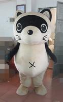 Mapache traje de la mascota del traje animal de la mascota para adultos carnaval dress, trajes de fiesta de Piel mascota