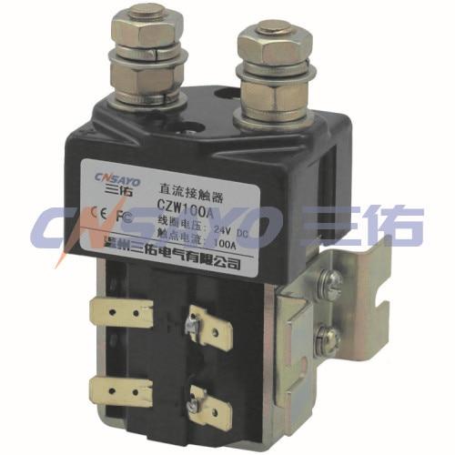 CZW100A/48V dc contactor new lp2k series contactor lp2k06015 lp2k06015md lp2 k06015md 220v dc
