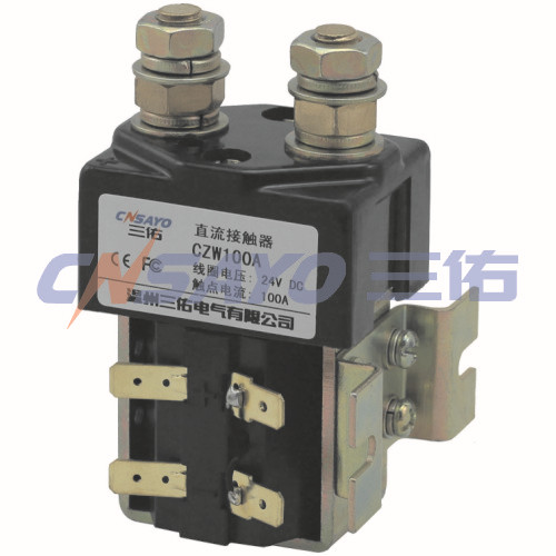 CZW100A dc contactor sayoon dc 12v contactor czwt150a contactor with switching phase small volume large load capacity long service life
