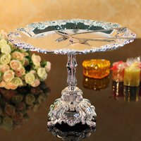 Ktv compotier fashion senior metal fruit plate cake pan