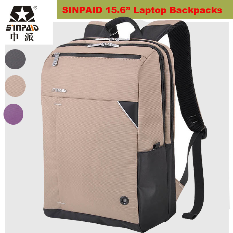 ФОТО Brand NEW Laptop Backpack 15.6 Daily Rucksack Men Computer Bagpacks Mochila Feminina Hiking Bag School Bags Men's Sport Backpack