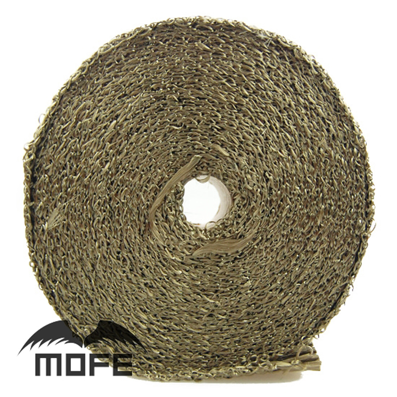 10m x5cm Mofe car styling Heat Exhaust Pipe Header Heat Wrap Resistant pipe Fireproof Insulating pipe 10m x5cm