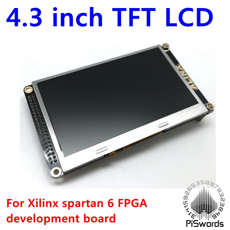 4 3 inch TFT LCD display module for XILINX FPGA development board 480 RGB 272 TFT