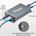 1080 TX RX P HDMI extender над TCP/IP с Audio Extractor ЕС plug HDMI splitter через Rj45 HDMI splitter