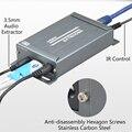 1080P HDMI extender TX RX over TCP/IP with Audio Extractor EU plug HDMI splitter via Rj45 HDMI splitter