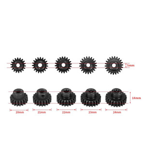 Brand New 5pcs M1 5mm 18T 19T 20T 21T 22T Pinion Engine Gear For Rc Car 1/8 Brushed Brushless Motor(China)