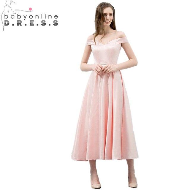 Babyonlinedress 2018 Sexy Open Back V ausschnitt Rosa Prom Kleider ...
