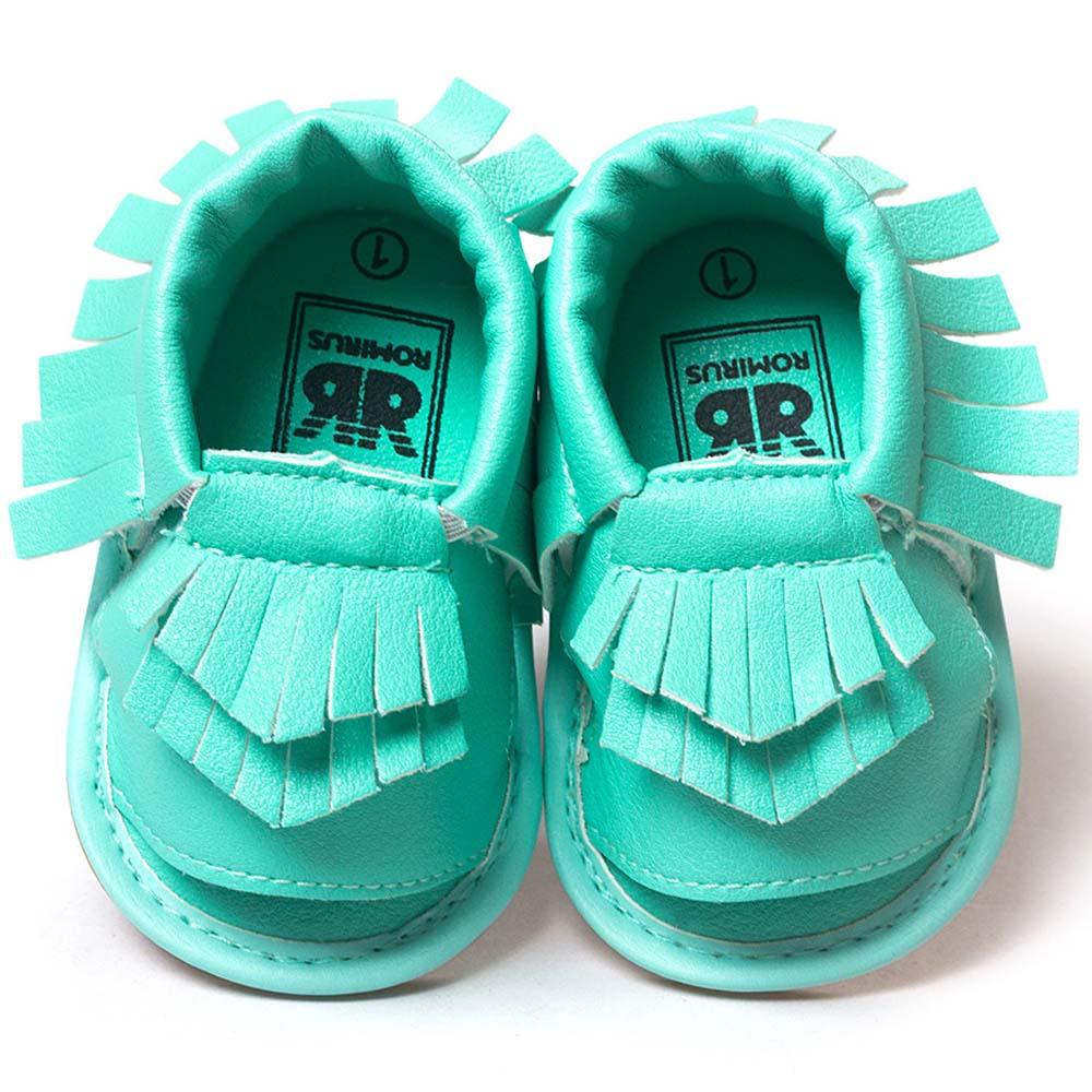 Romirus bebé mocasines borla shoes sandalias de la manera ocasional de la pu san