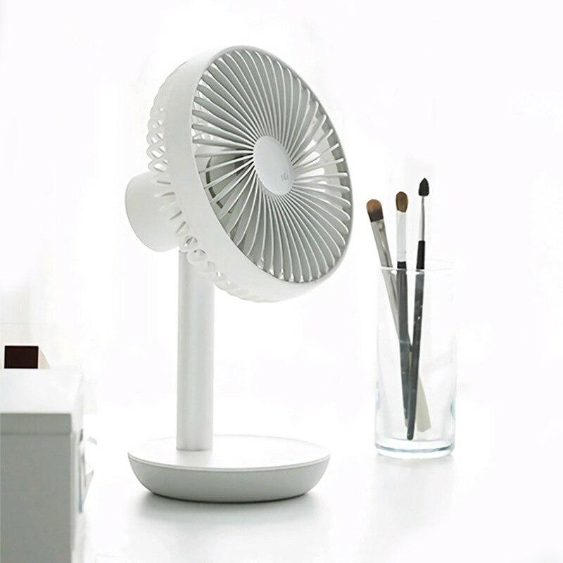 Summer Portable Mini USB Electric Fan small Plastic Fan Dormitory Office desktop cooling fan ITAS6629A in Fans from Home Appliances