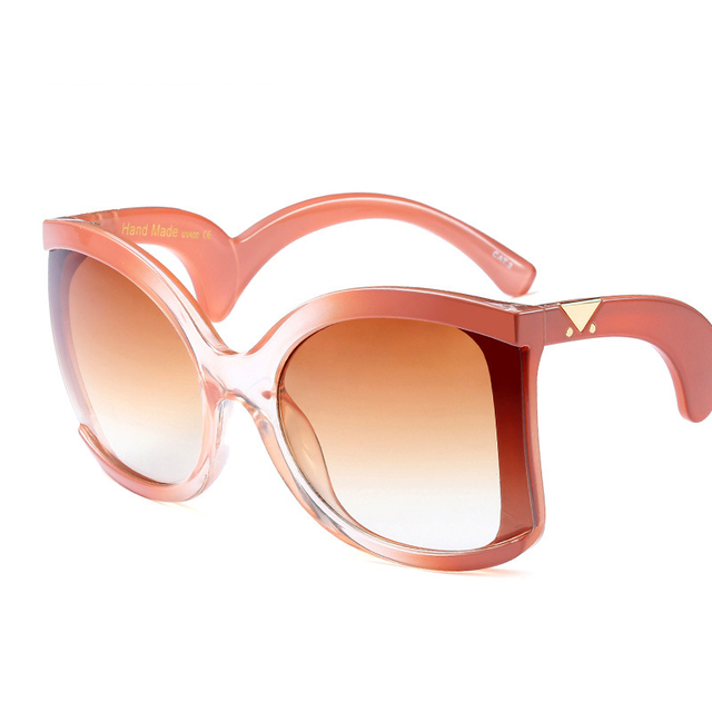 ROYAL GIRL Brand Designer Butterfly Sunglasses for women oversize Retro wrap Sun glasses UV400 Shades ss127 4