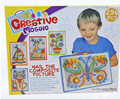 2016 горячая распродажа творческий гриб образовательные игрушки подарки детям ногтей творческий мозаика комплект головоломки игрушки