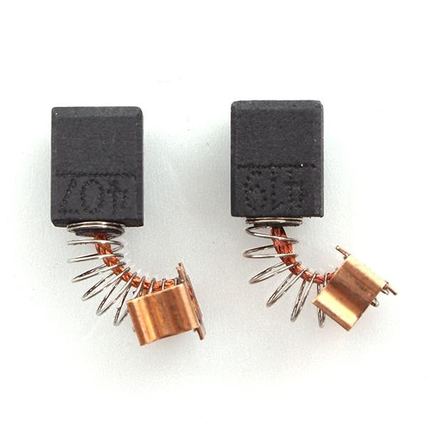 1 Pair Electric Tool Motor CARBON BRUSHES For Generic Repairing Part  For MAKITA CB419 CB407 HR2432 HR2440 HR2450T 11.5X9X6mm