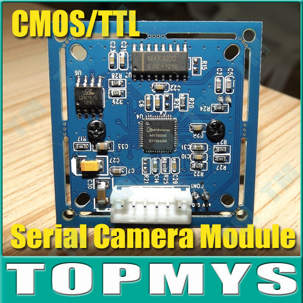 CCTV Camera JPEG Color VC0706 Camera  Infrared RS-232 Serial Port Camera Module TM-S403 Full Source Program Free Shipping