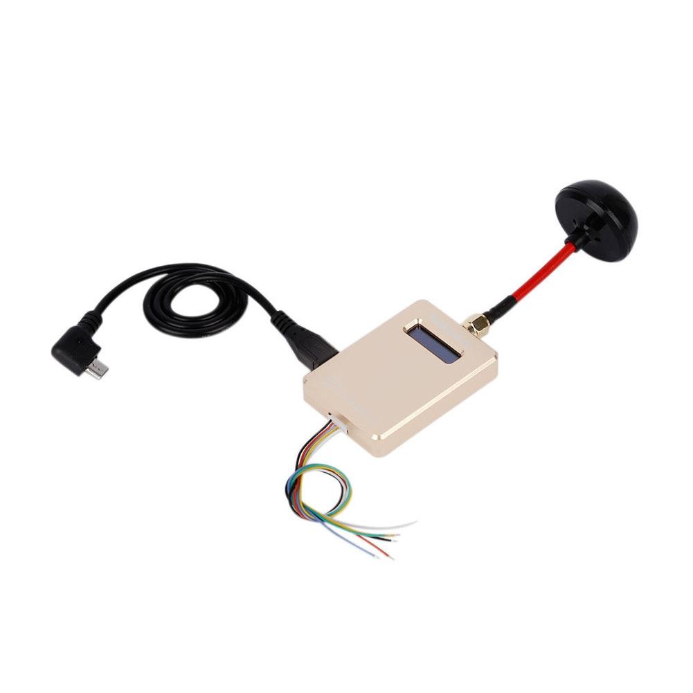 FM Moduler 640*480 30fps D'or FPV 5.8G VMB40 40CH Sans Fil Mobile Vidéo Récepteur avec OTG Connecter