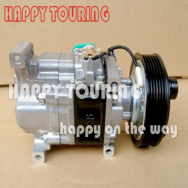 Car A/C AC Compressor for MAZDA 3 1.6L for mazda 3 compressor H12A1AG4DY BP4K61K00Car A/C AC Compressor for MAZDA 3 1.6L for mazda 3 compressor H12A1AG4DY BP4K61K00