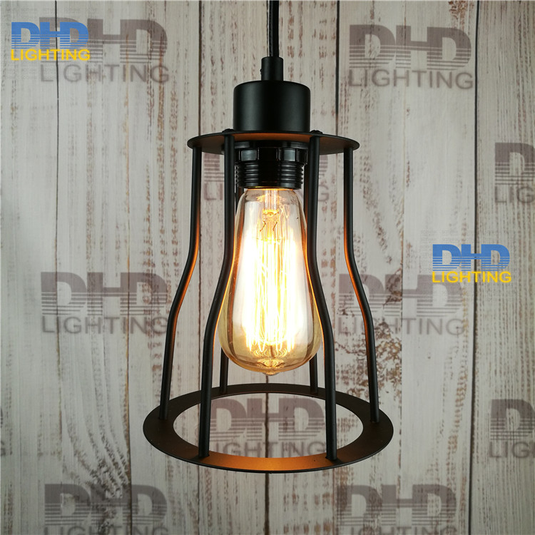 Free shipping High quality Indoor bar counter stair pendant lamp Loft Northern Europe american vintage retro pendant light