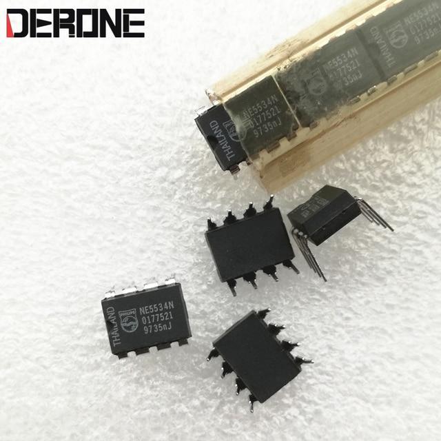 2 stück NE5534N Single op amp Besser als die großen S ne5534n op amp Made in Thailand für Audiophile diy