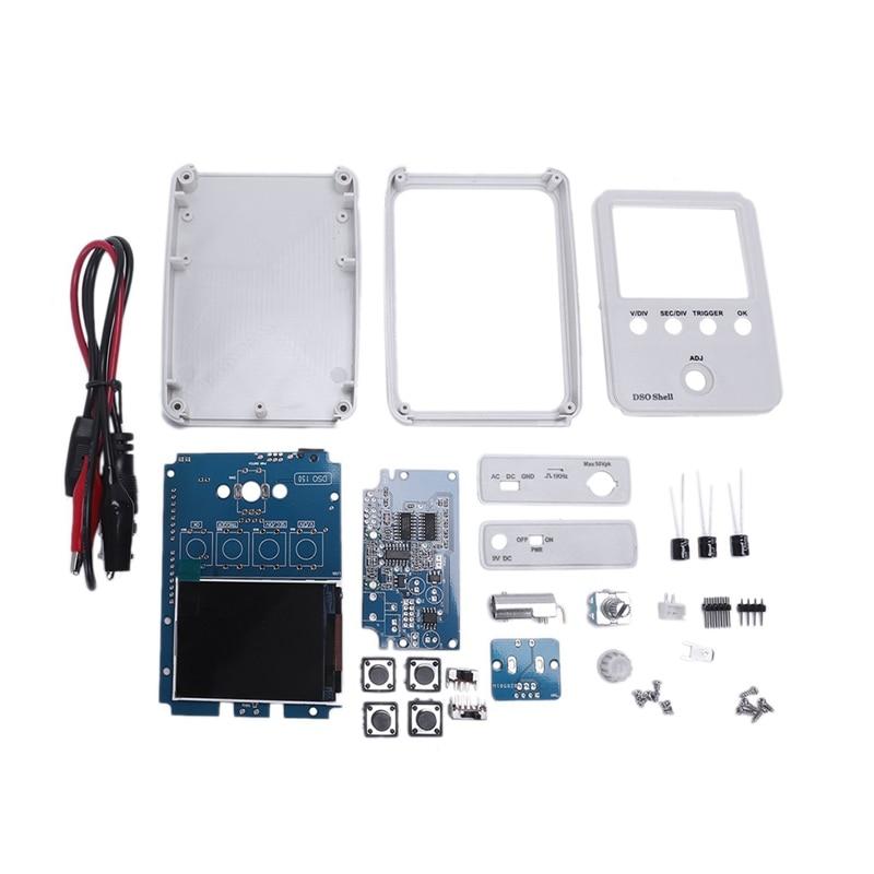 Tech Dso150 15001K Diy Diy Digital Oscilloscope Unassembled Kit With Housing Original Dso Shell