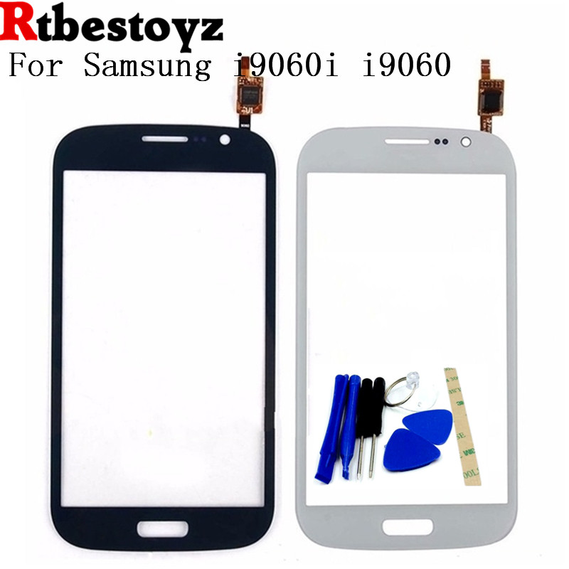RTBESTOYZ 100% Test Passed Touch Glass Panel For Samsung Galaxy Grand Neo Plus i9060i i9060 touch Screen Digitizer Glass