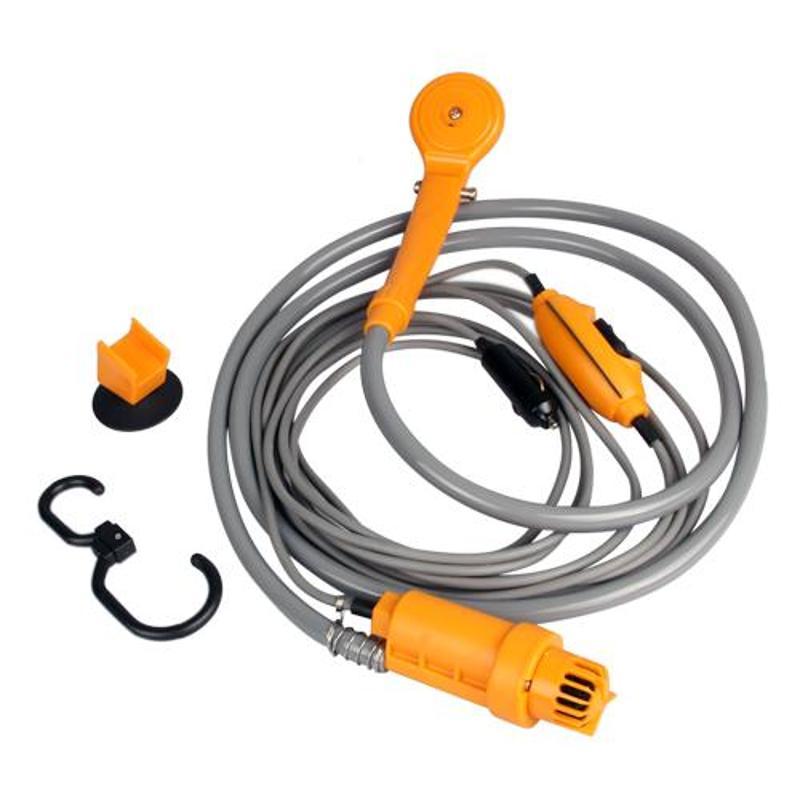 Douche de Camping Portable Electrique USB Pompe de Lavage Haute Pression Voiture