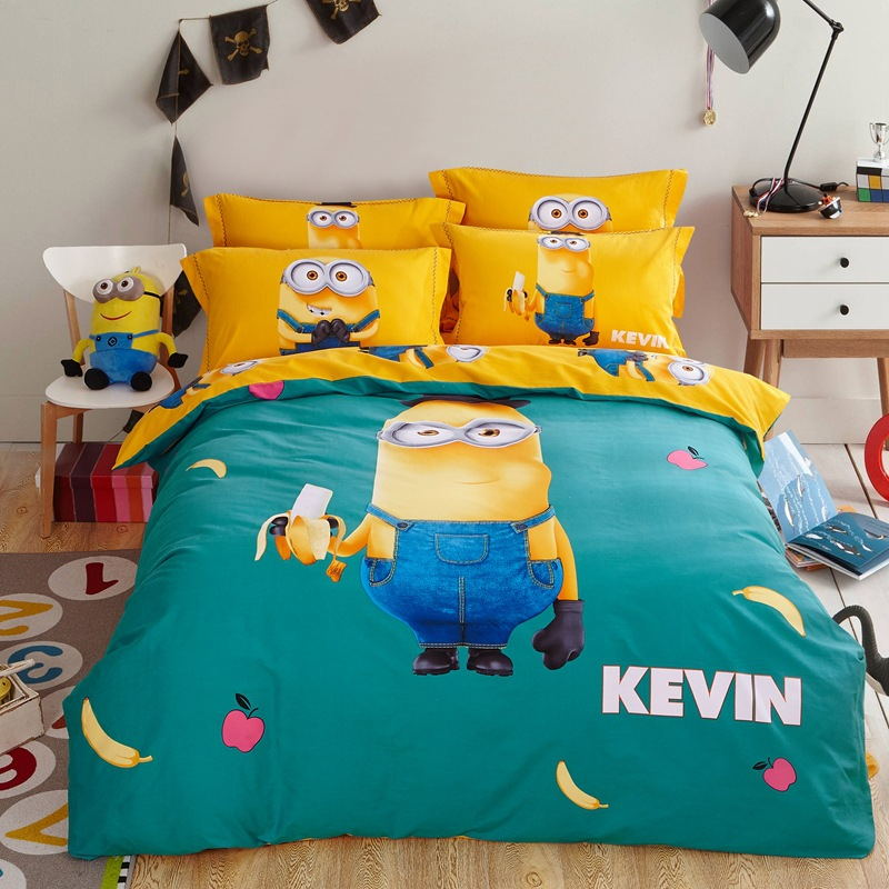 3d Cartoon Bedding Sets Full/Queen Size Cartoon Characters Theme 4pcs Bed  Linen Bed Sheets Duvet Cover Set In Bedding Sets From Home U0026 Garden On ...