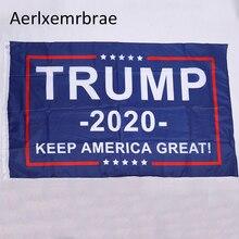 Flag Trump President Usa Keep-America Aerlxemrbrae