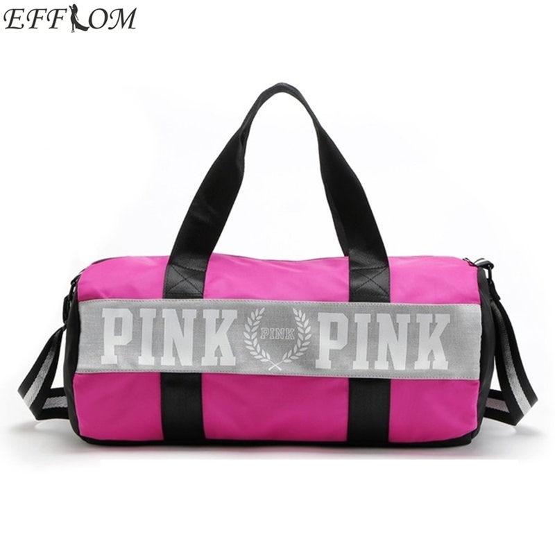 VS Nylon Love Pink Girl Bag Duffel Bag Women Travel Business Handbags Victoria Beach Shoulder Bag Large Secret Capacity Bags victoria u0027s secret купальники недорого
